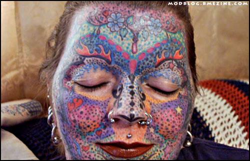facial ritual tattooing