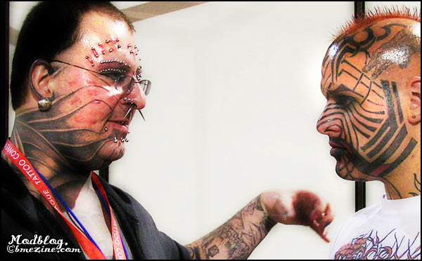 Tattooed Faces Meet In Prague | BME: Tattoo, Piercing and