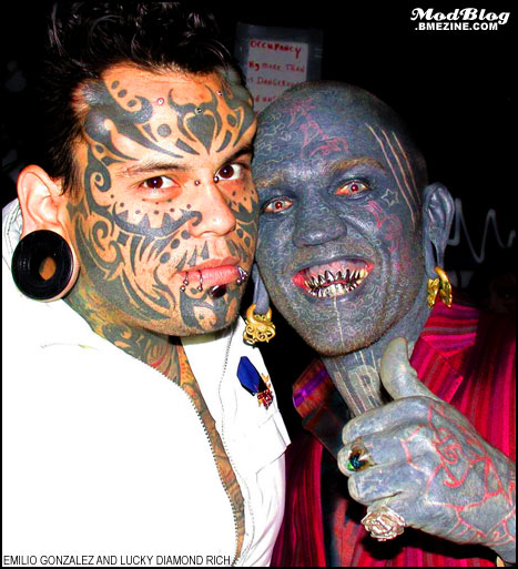 Two Of My Favorite Tattooed Faces Bme Tattoo Piercing