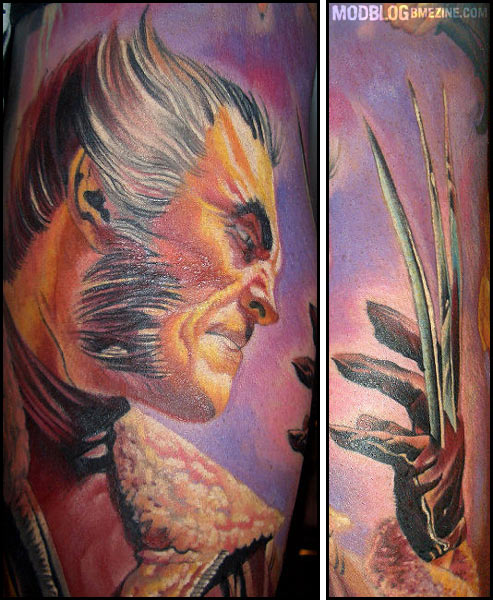 Amazing Wolverine Tattoo Bme Tattoo Piercing And Body Modification News
