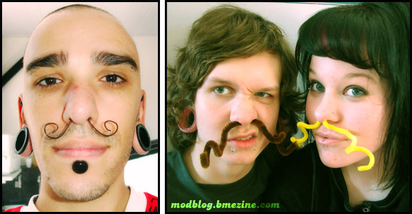 Septum Mustache Tusks Bme Tattoo Piercing And Body