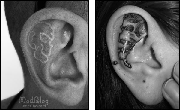 White Ink Bme Tattoo Piercing And Body Modification News Page 2