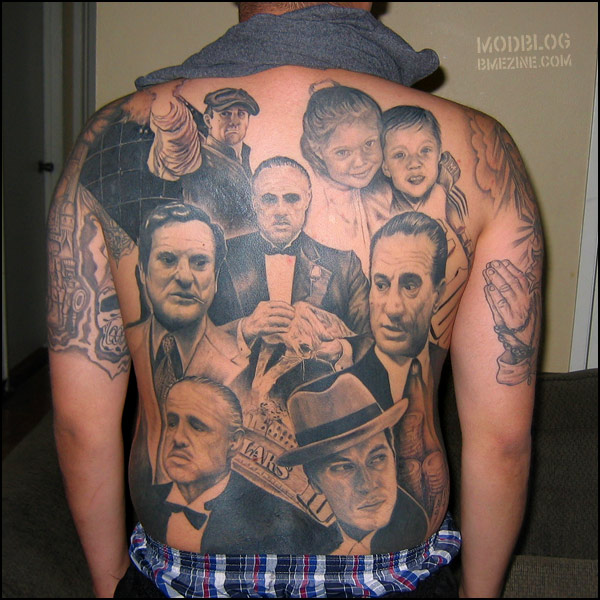 Gangster Tattoo Designs