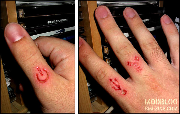 Geek Scarification | BME: Tattoo, Piercing and Body Modification News