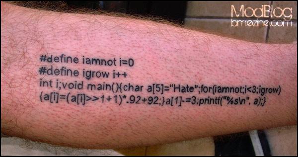 C tattoo