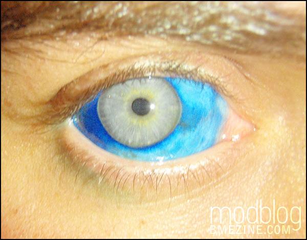 Как сделать яркий белок глаза