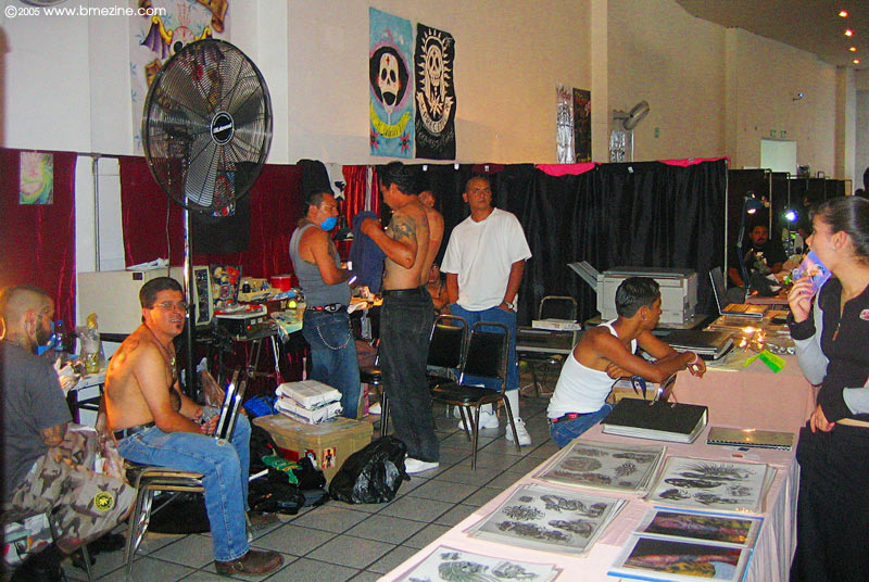 Estudio Tatuajes Nomadas Guadalajara guadalajara tattoo convention 2005 [the present tense - bme/news]