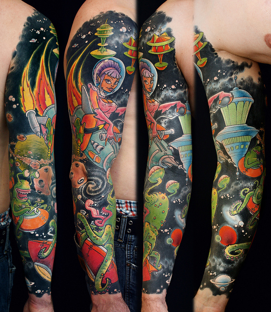 Sleeve by Steph D