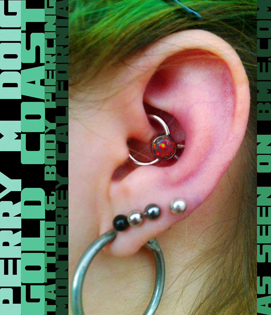 how to change a daith piercing