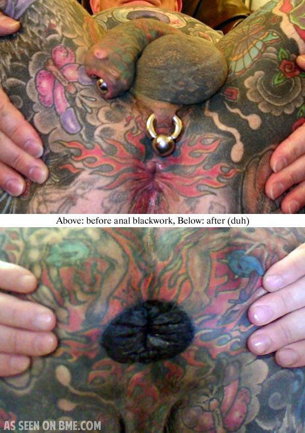 Anal tattoos