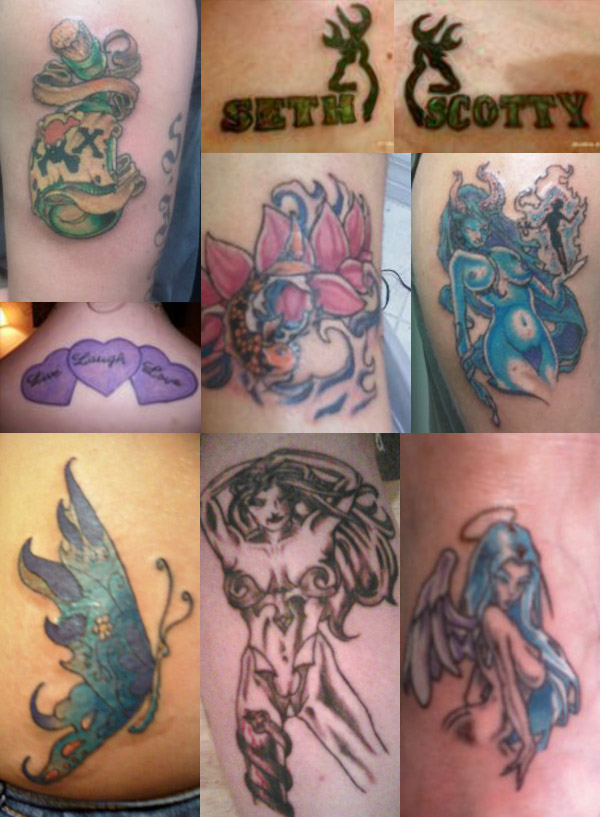 garbage tattoos