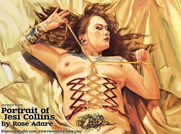rose - portrait of jesi collins