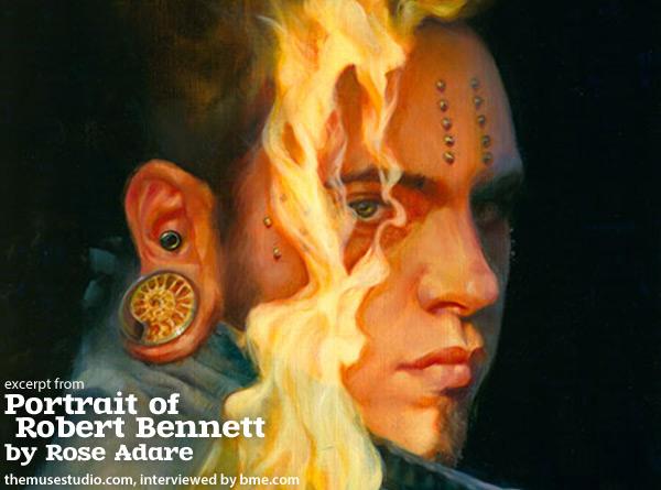 rose - portrait of robert bennett