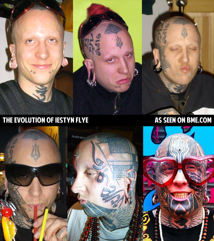Evolution | BME: Tattoo, Piercing and Body Modification News