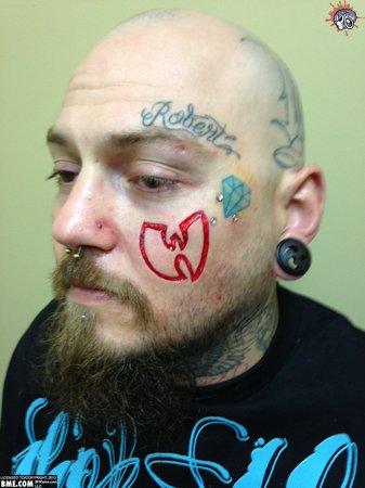 ol dirty bastard tattoo