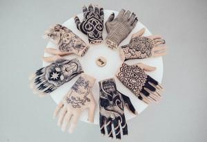 1. Thing Gallery b&w tattoos