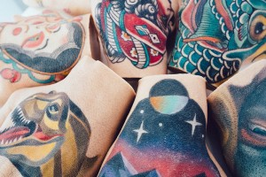3. Thing Gallery tattoo stumps